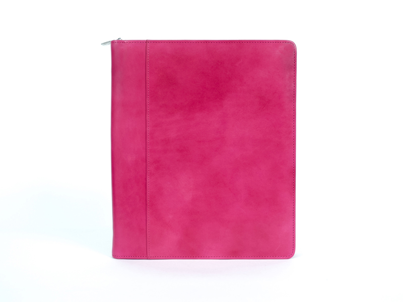 Zip Around iPad Case-33 Fuchsia