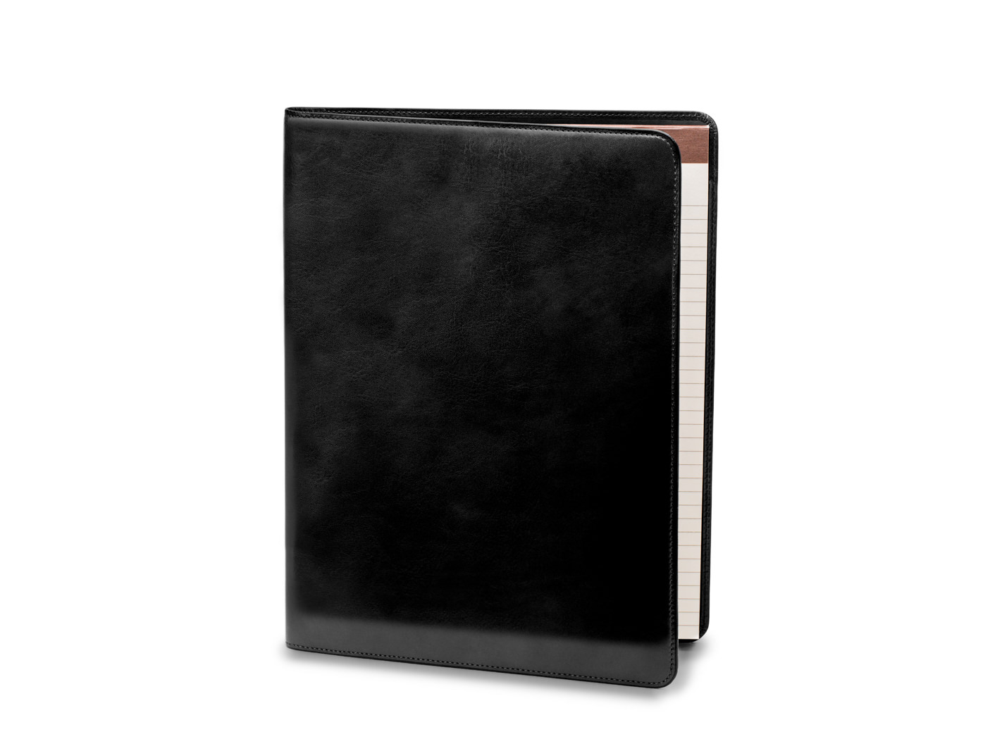 Deluxe Leather Portfolio - 59 Black