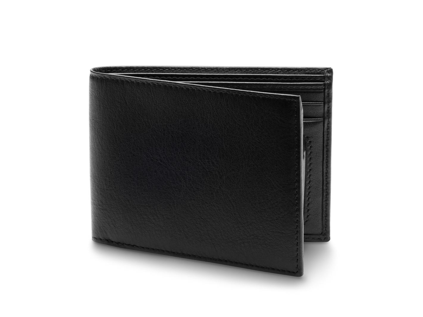Executive ID Wallet - 100 Black