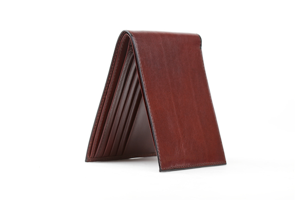 Executive ID Wallet - Dark Brown - Horizontal
