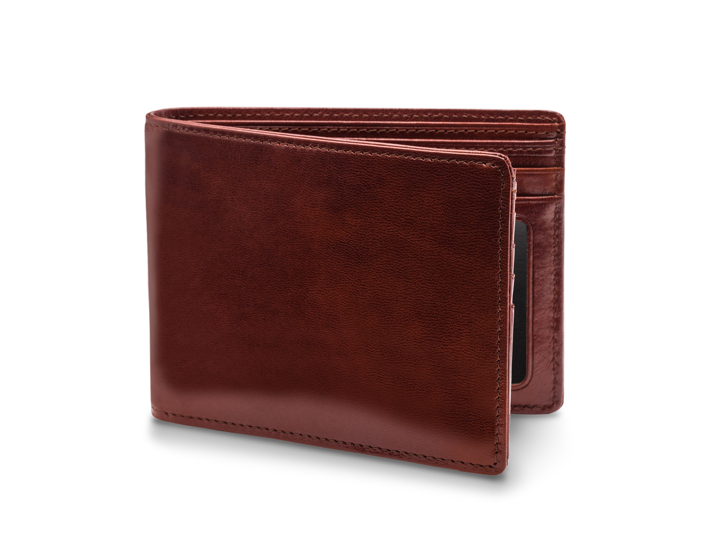 5 Pocket Wallet W/ I.D. - 58 Dark Brown