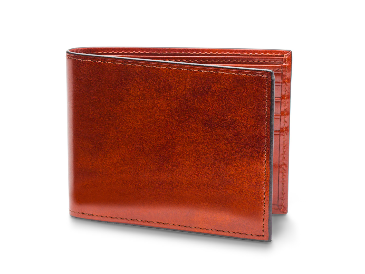 a520f304dbfc Leather Bifold Wallet with ID Flap   Bosca