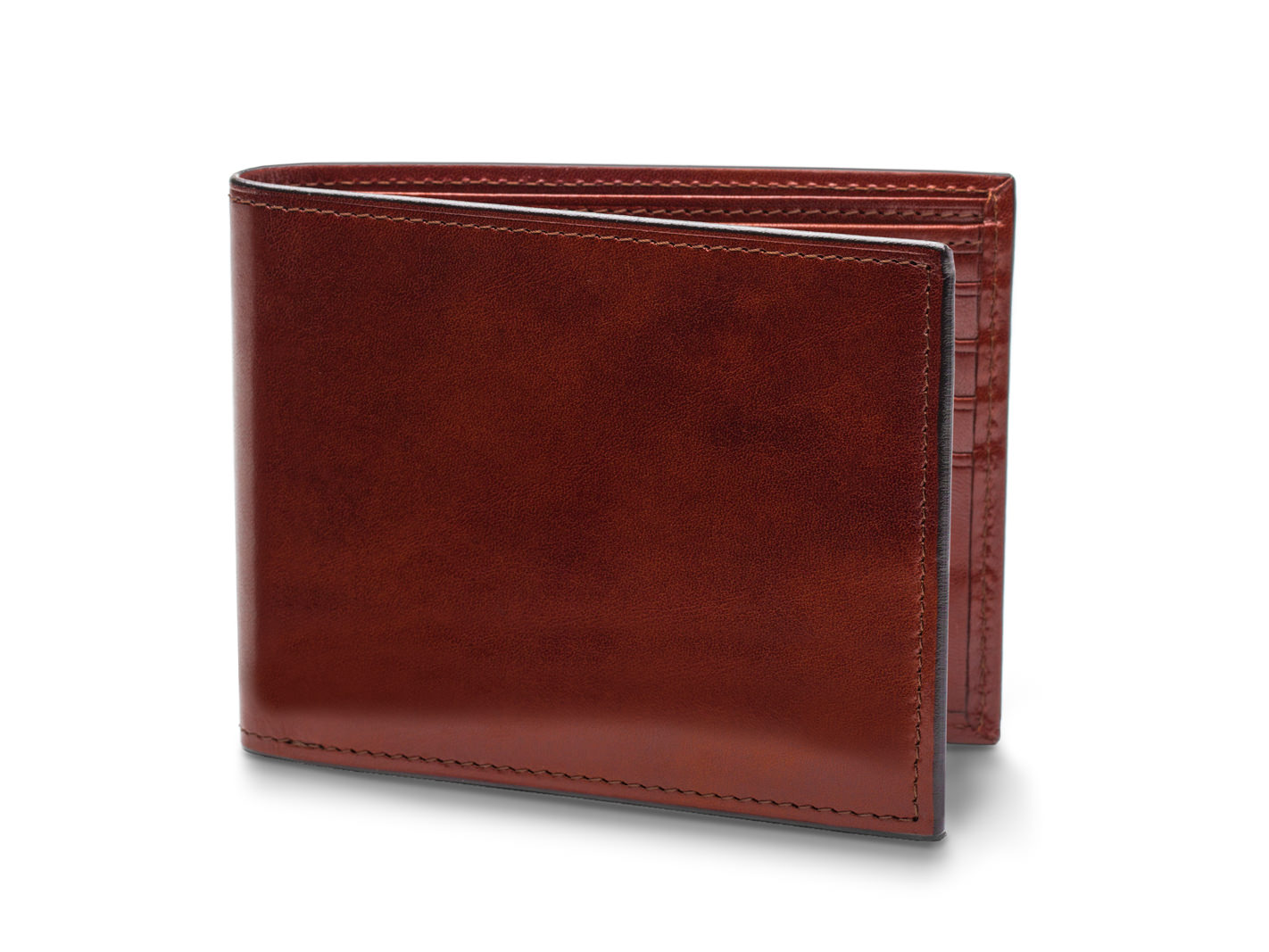 Bifold With Card / I.D. Flap - 58 Dark Brown