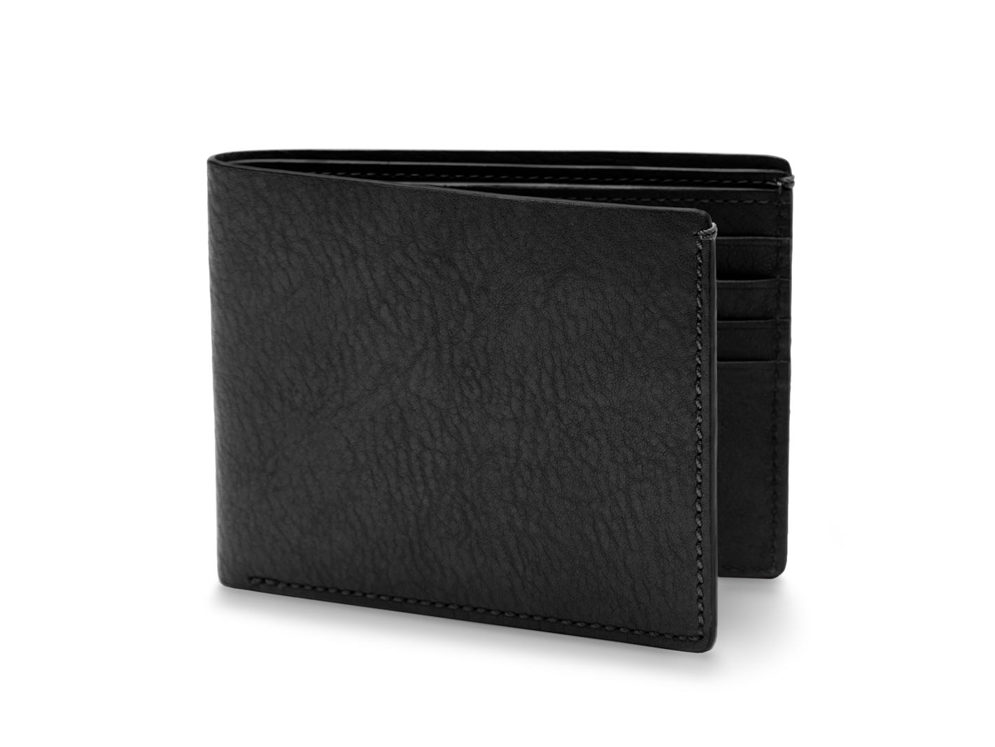 8 Pocket Deluxe Executive Wallet-159 Black - 159 Black