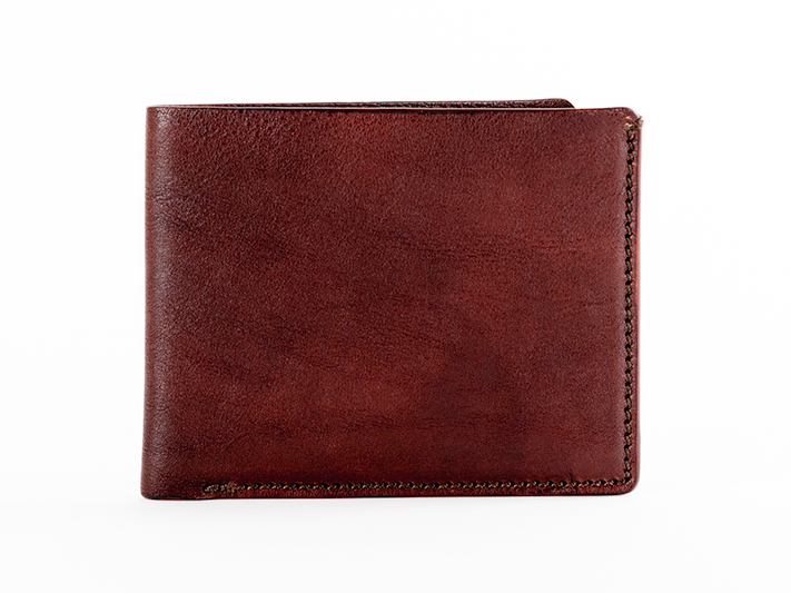8 Pocket Deluxe Executive Wallet-658 Dark Brown