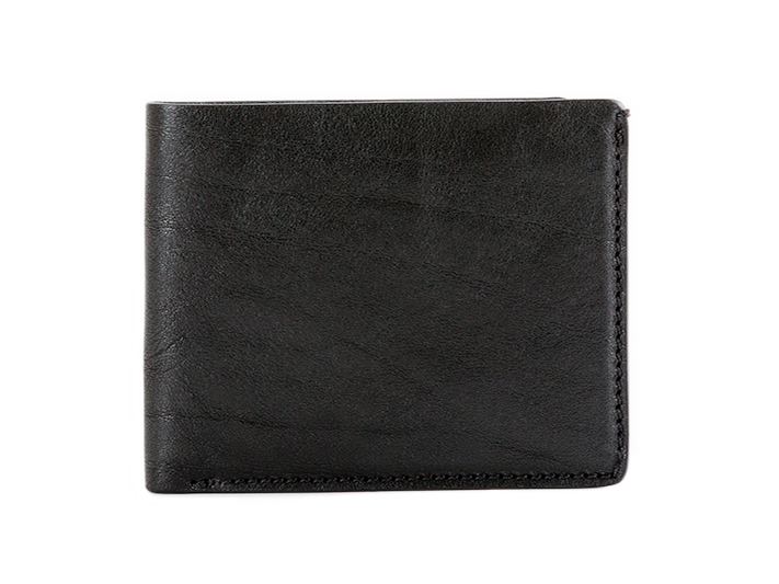 8 Pocket Deluxe Executive Wallet-659 Black