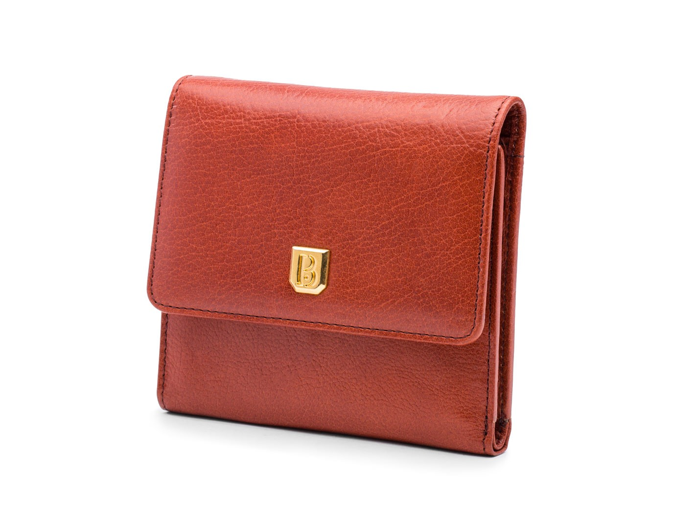 Saddle Brown Small Wallet