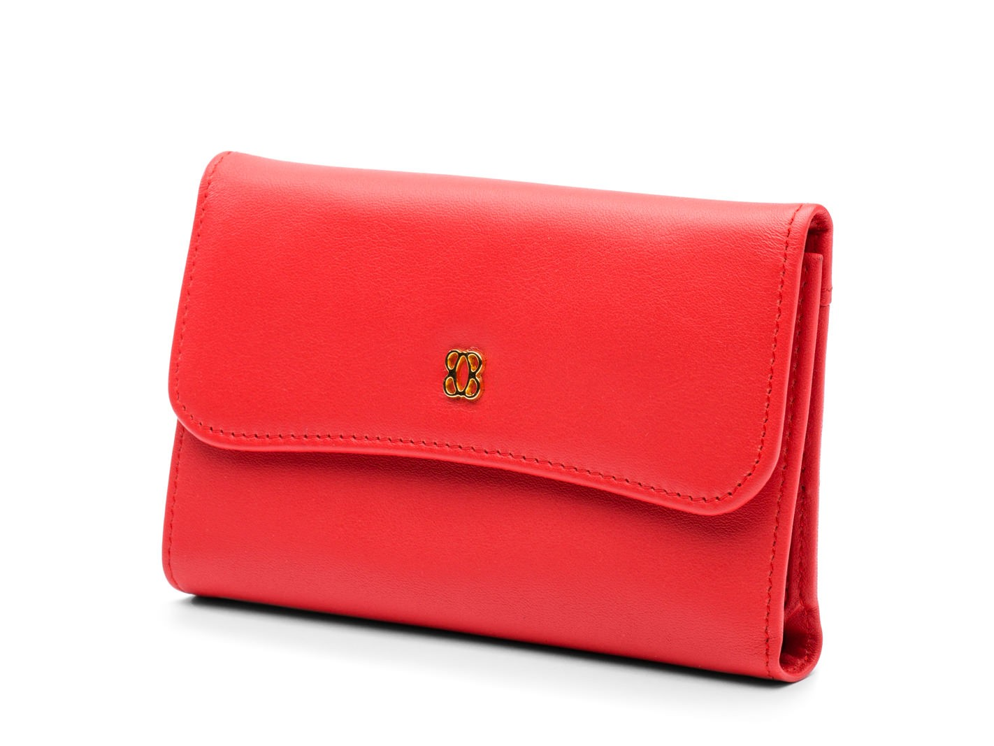 Coral ID French Purse