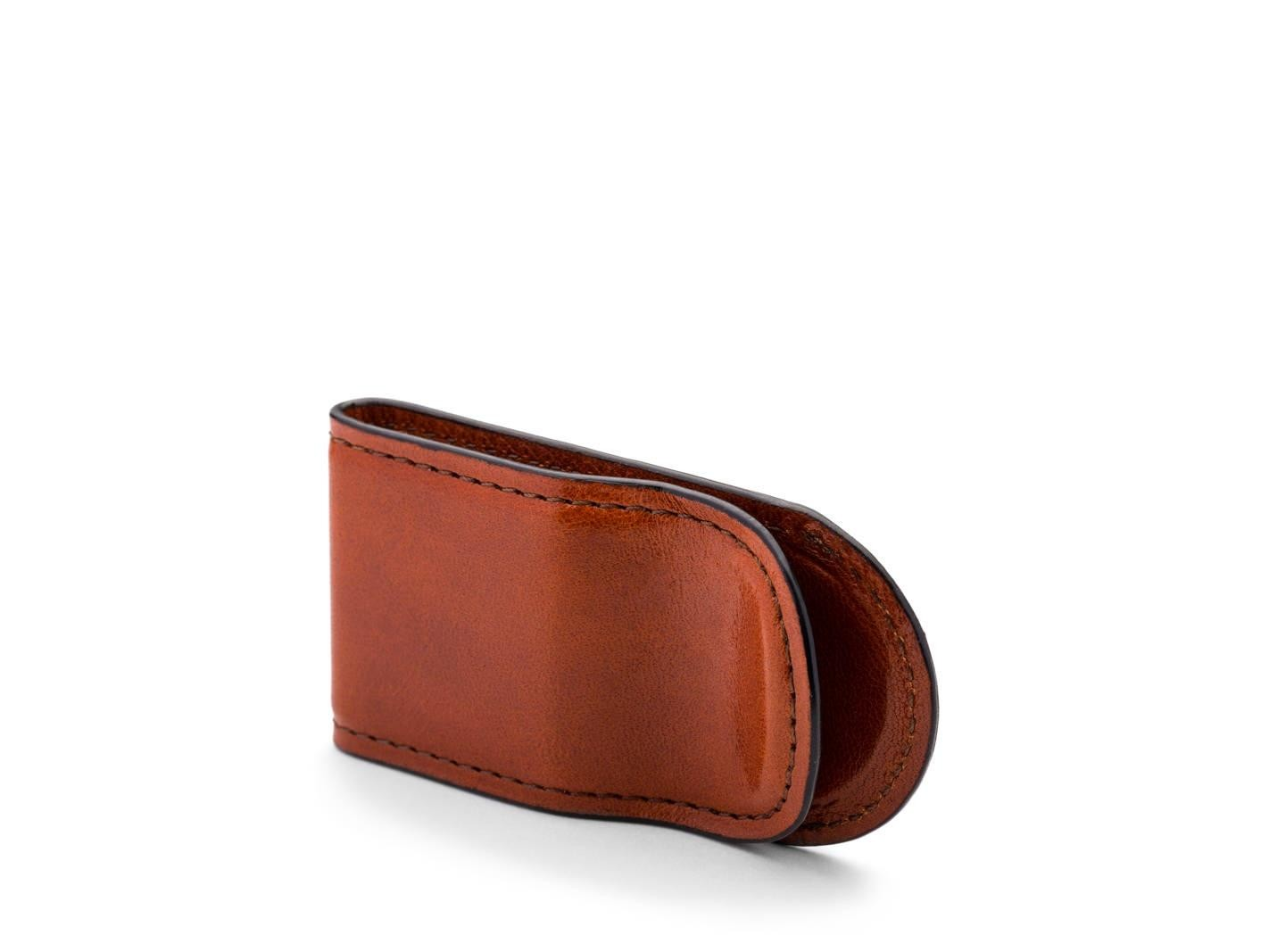 Leather Covered Money Clip