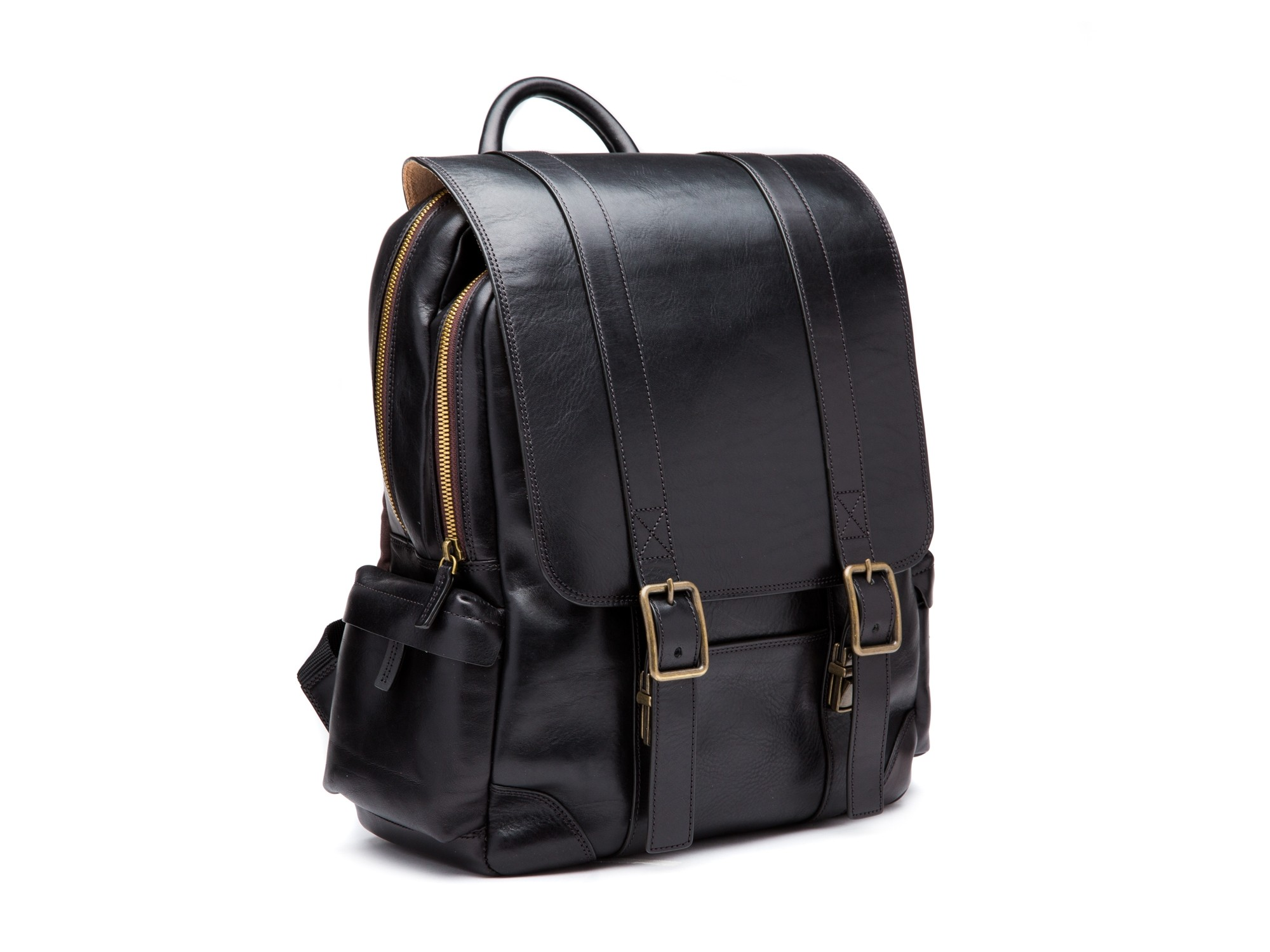 Cafe Leather Backpack