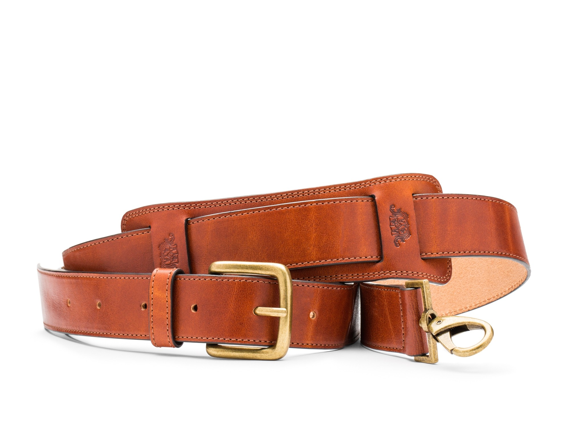 Deluxe All Leather Shoulder Strap