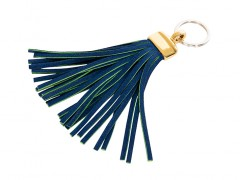 Tassel Key Ring-351 Blue