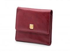 Bosca Oxblood Small Wallet 1193-72 72 Brick Red