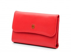 Bosca Coral ID French Purse 1230-611 611 Coral