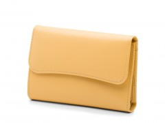Bosca Vanilla ID French Purse 1230-711 711 Vanilla