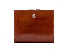 Bosca Petite French Purse 1244-27 27 Amber