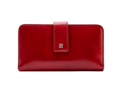 Checkbook Clutch-24 Brick Red