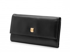 Bosca Soft Black Clutch 1593-161 161 Soft Black