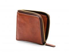 Bosca Euro Zip Wallet 168-217 217 Amber