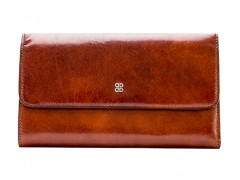 Bosca Large Checkbook Clutch 1784-27 27 Amber