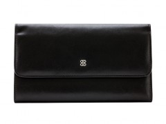 Large Checkbook Clutch-59 Black