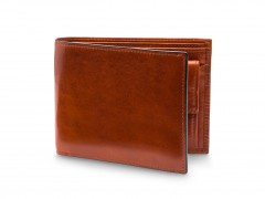 Bosca RFID Euro-Size Wallet w/Coin Pocket 194-27 27 Amber