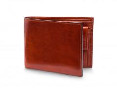 Bosca RFID Euro-Size Wallet w/Coin Pocket 194-32 32 Cognac