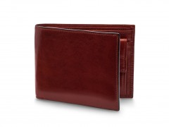 Bosca RFID Euro-Size Wallet w/Coin Pocket 194-58 58 Dark Brown