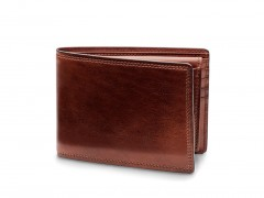Bosca Credit Wallet w/I.D. Passcase 195-218 218 Dark Brown
