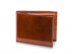 Bosca Credit Wallet with I.D. Passcase 195-27 27 Amber