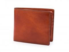 Bosca Euro Credit Wallet w/I.D. Passcase 196-217 217 Amber