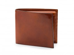 Bosca Euro Credit Wallet w/ ID Passcase 196-27 27 Amber