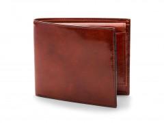 Bosca Euro Credit Wallet w/ ID Passcase 196-32 32 Cognac