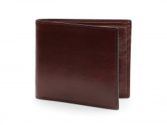 Bosca Euro 8 Pocket Deluxe Executive Wallet w/ Passcase 198-58 58 Dark Brown