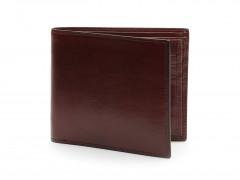 Bosca Euro 8 Pocket Deluxe Executive Wallet w/ Passcase 198-58 58 Dark Brown