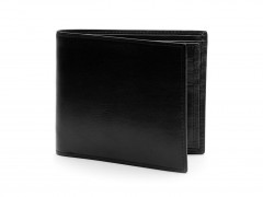 Bosca Euro 8 Pocket Deluxe Executive Wallet w/ Passcase 198-59 59 Black