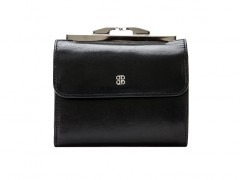 "4"" French Purse-59 Black"