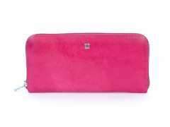 Bosca Zip Around Wallet 2477-33 33 Fuchsia Zip Around Wallet-33 Fuchsia