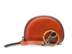 Bosca Coin Purse / Key Fob 292-217 217 Amber