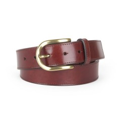 Bosca Old Familiar Belt 32034-58 58 Dark Brown