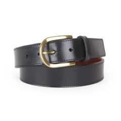 Bosca Old Familiar Belt 32034-59 59 Black Old Familiar