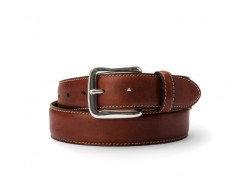 Bosca The Gallant Belt 35134-158 158 Dark Brown