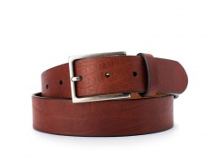 Bosca The Sicuro Belt 35534-158 158 Dark Brown