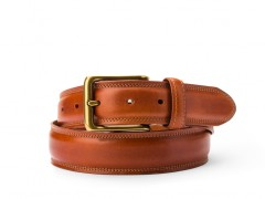 Bosca The Jefferson Belt 35734-217 217 Amber