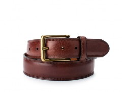Bosca The Jefferson Belt 35734-218 218 Dark Brown
