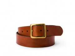 Bosca The Bello Americano Belt 35834-217 217 Amber