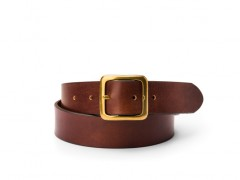 Bosca The Bello Americano Belt 35834-218 218 Dark Brown