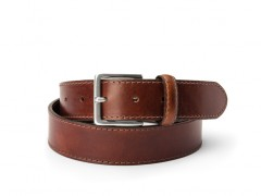 Bosca The Franco Belt 36034-218 218 Dark Brown