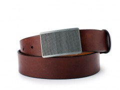 Bosca Leonardo Belt 36134-218 218 Dark Brown