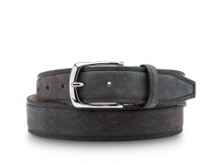 Bosca The Allegro Belt 36632-367 367 Steel Blue